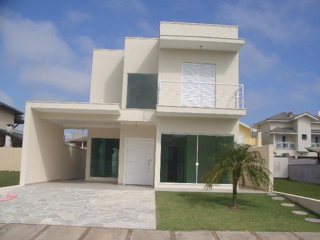Condomínios a Venda |  PERUIBE | Sobrado em Condominio Fechado com 4 suites, sala em 2 ambientes,...